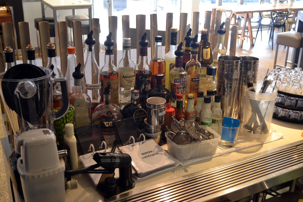 Cocktail Section
