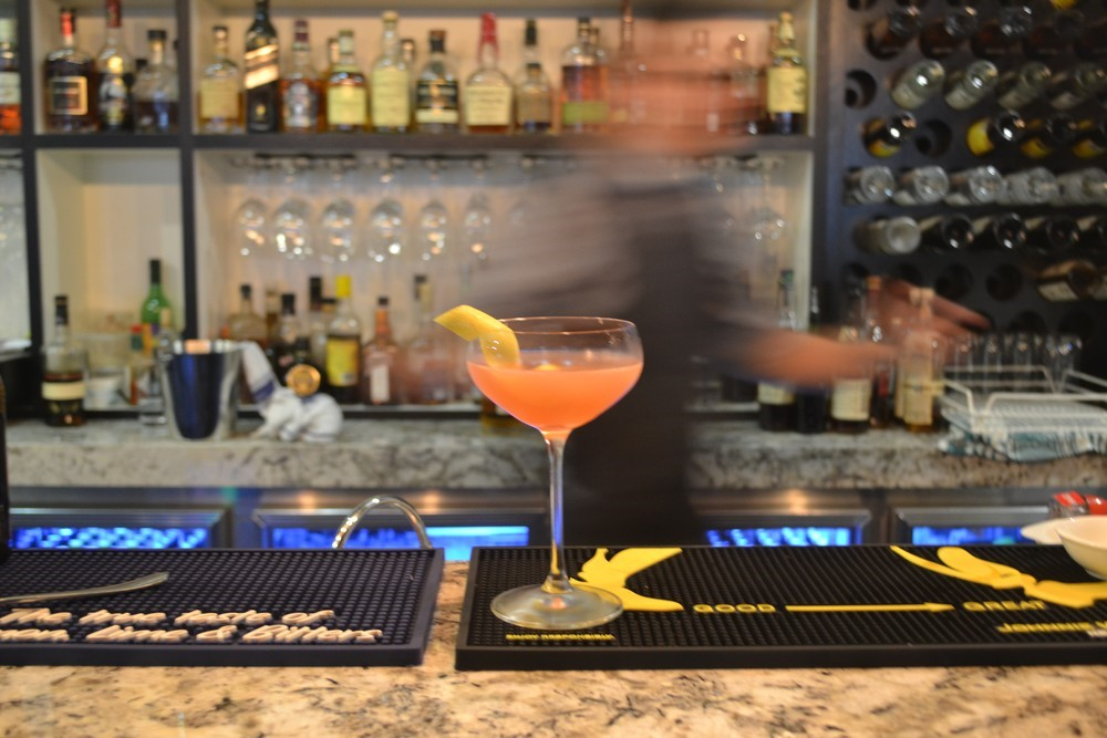 Mandarin Aviation Cocktail