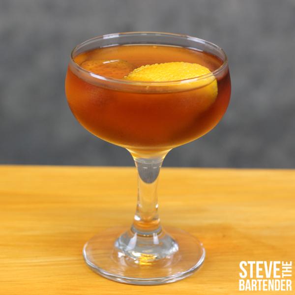 Applejack Manhattan Cocktail