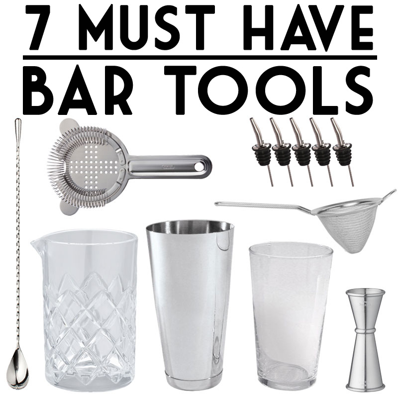 Must Have Bar Tools