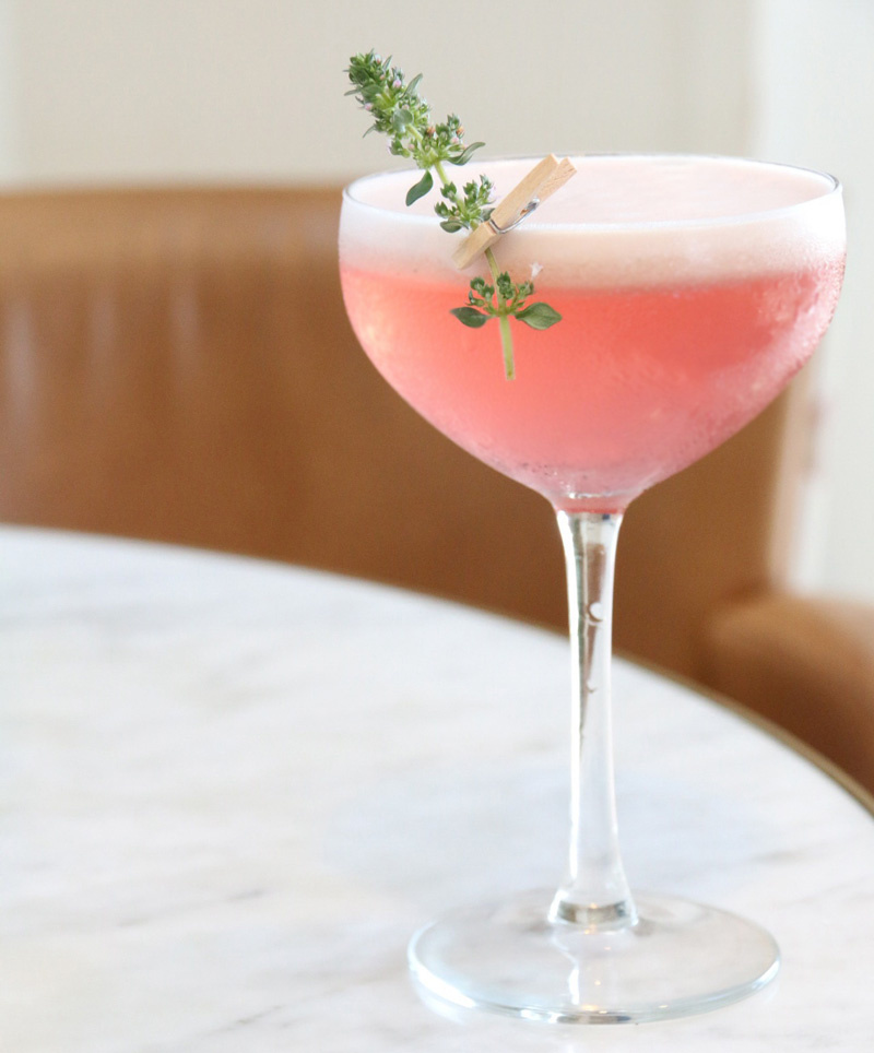 Strawberry Gin Cocktail