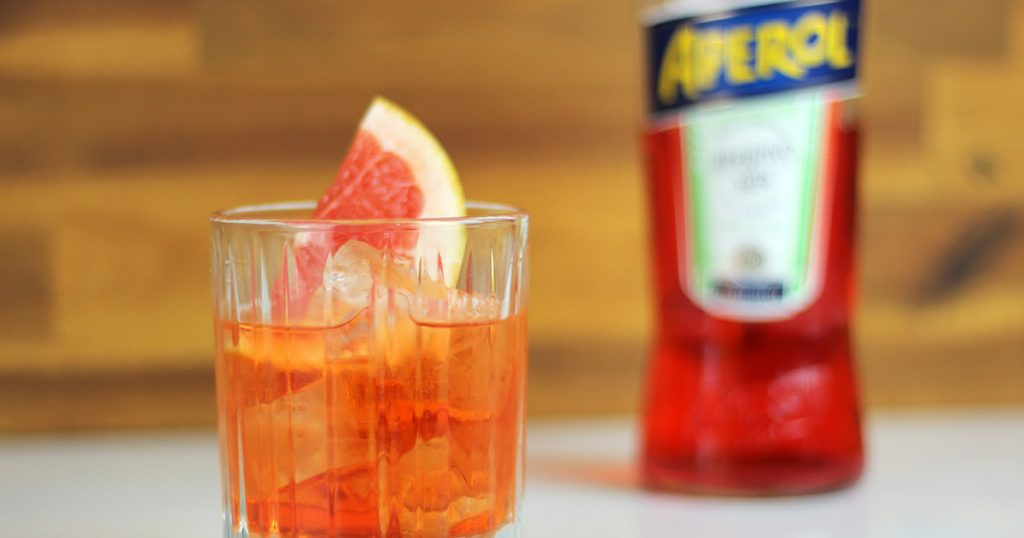 Unusual Negroni Cocktail Recipe