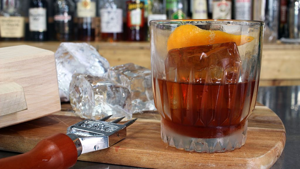 Clear Ice Negroni