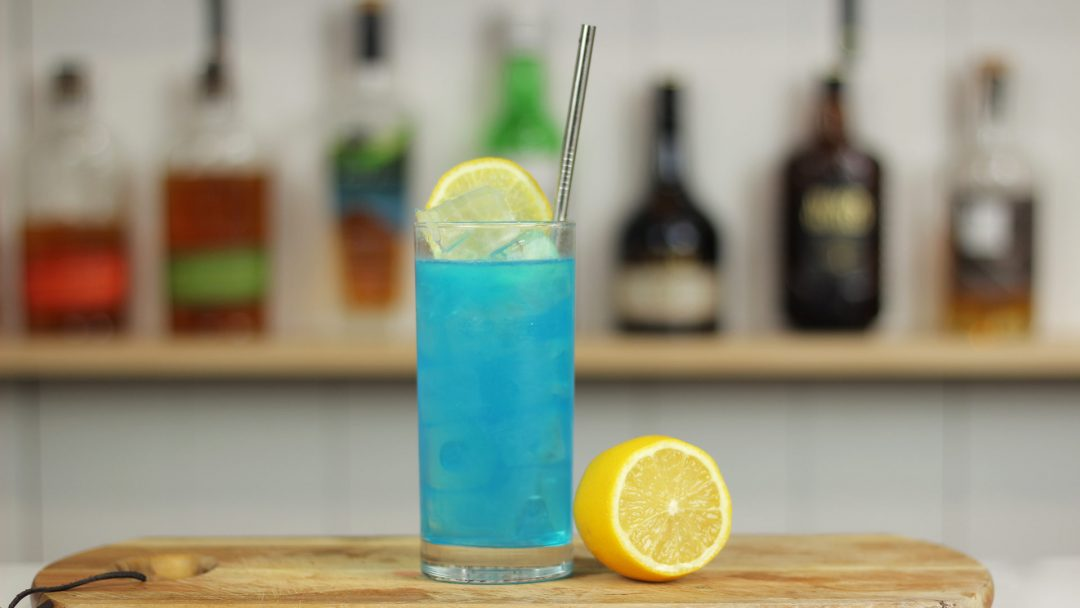 Adios Motherf Er Amf Cocktail Recipe Blue Long Island Iced Tea