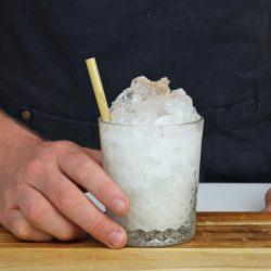 Coconut Batida Cocktail