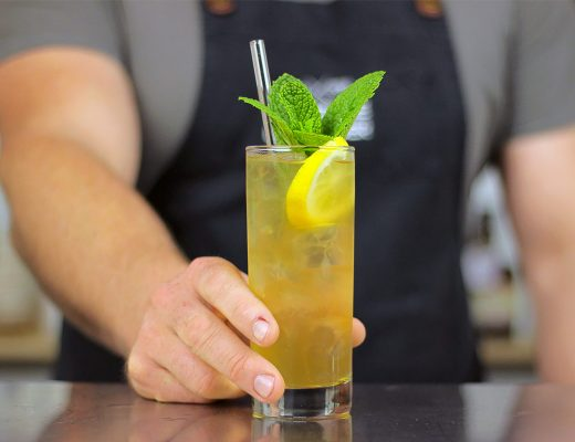 Ginger Whiskey HighBall