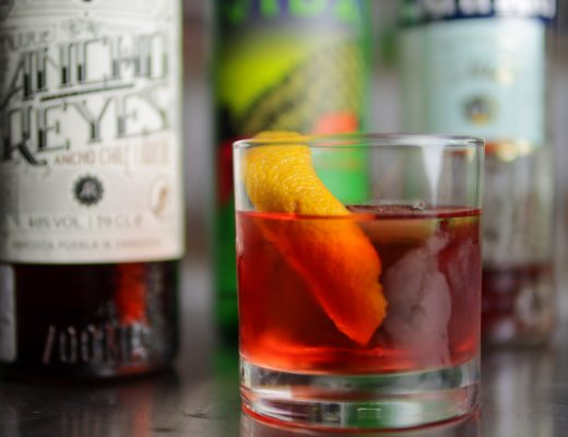 Spicy Tequila Negroni
