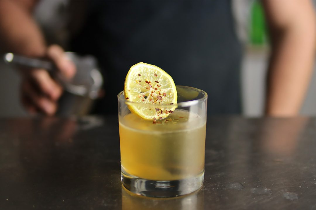 Whiskey Business Cocktail