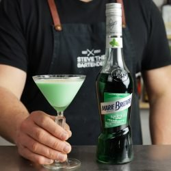 Grasshopper Cocktail Recipe Creme De Menthe Cocktail