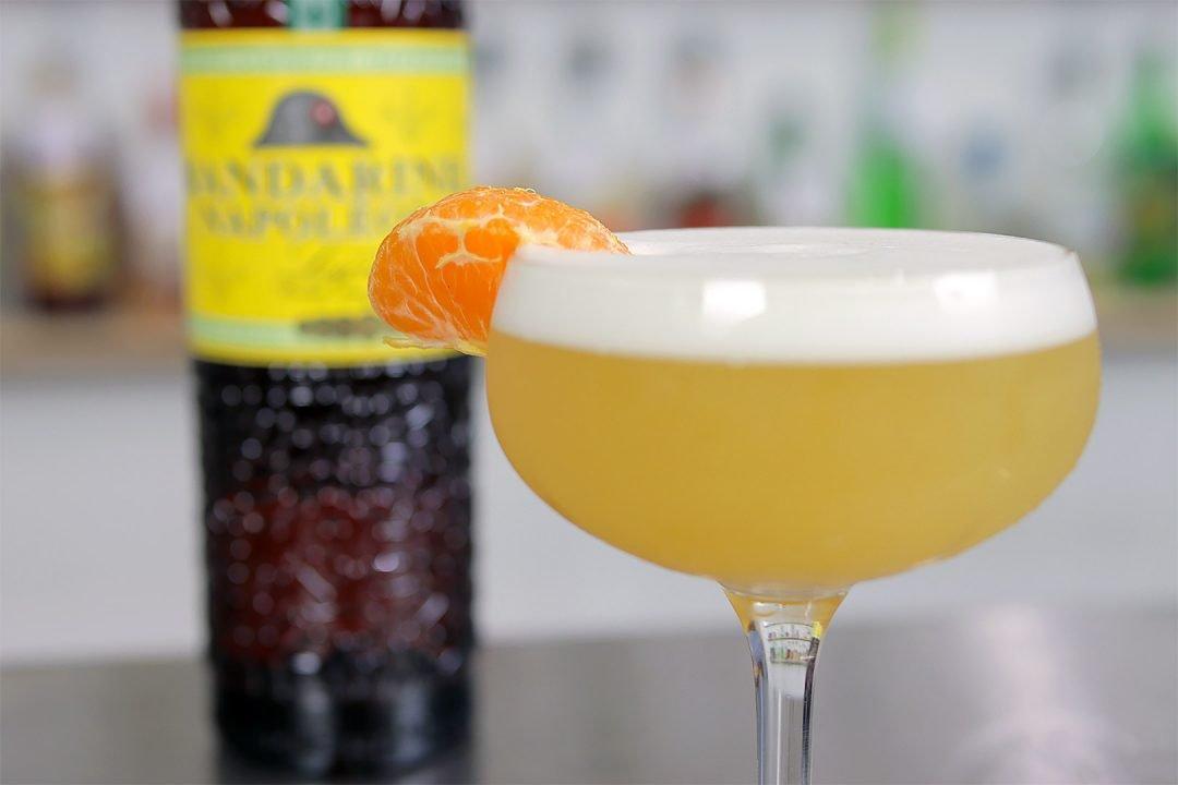 Mandarin Sour Cocktail Recipe